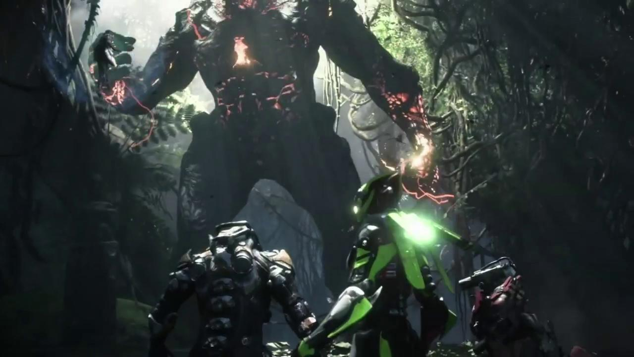 Anthem E3 2018 Trailer Stills