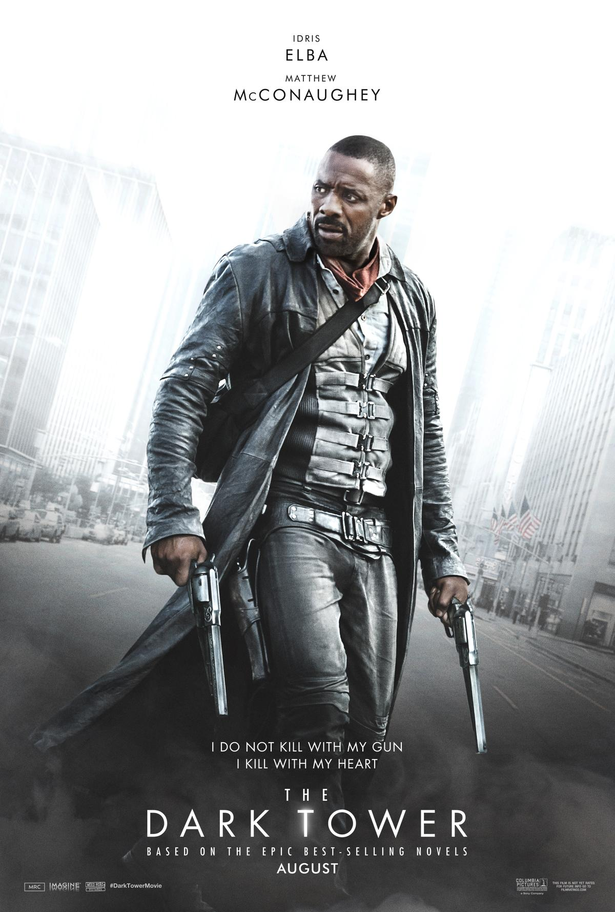 The Dark Tower Reveals Roland Deschain and the Man in Black Posters Revealed