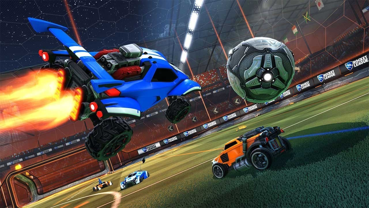 18. Much like our Rocket League re-review from 2017 said, the idea of rocket-powered cars flipping through the air in Thunderdome-esque matches of cage-soccer sounds like the incoherent ramblings of a madman, but it turns out to be just crazy enough to work. Psyonix's Rocket League, the follow up to Supersonic Acrobatic Rocket-Powered Battle-Cars, finds dumb fun in pulling turbocharge-assisted front flips in an ice cream truck, and the white-knuckle strategy in working with your team to control the giant ball on offense and defense. The fast and fluid absurdity of Rocket League fuses into one hell of a good time.