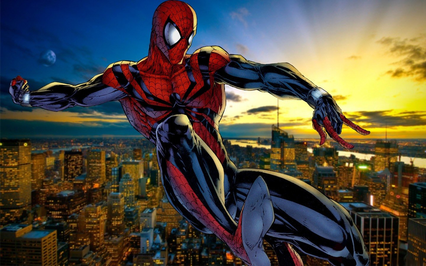 Ben Reilly Spider-Man: Now we're at the part of the list where we see some cool Spidey-suits not worn by Peter Parker himself. This one was worn by Peter's clone named Ben Reilly, who operated as Spider-Man before donning the next costume on this list...