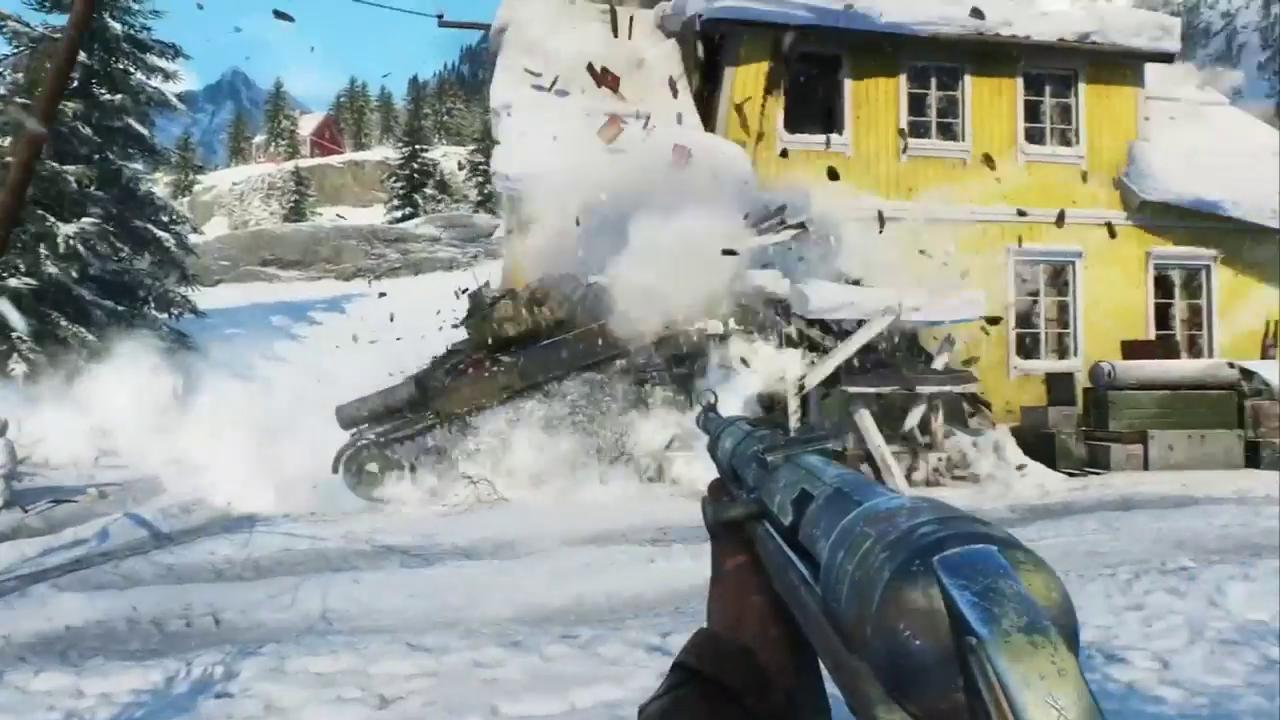 From the gameplay trailer for Battlefield V shown during the EA press conference at E3 2018.