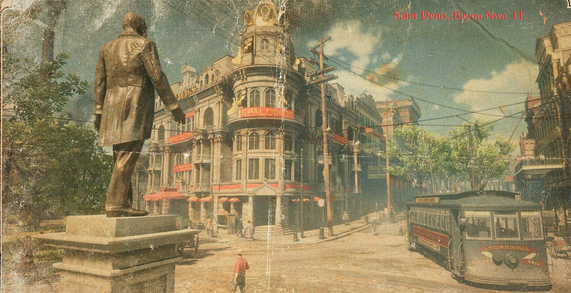 Saint Denis is the sprawling city in the south-east corner of the map. It's more industrialised than any other location and has trams, telephone lines and paddle steamers.