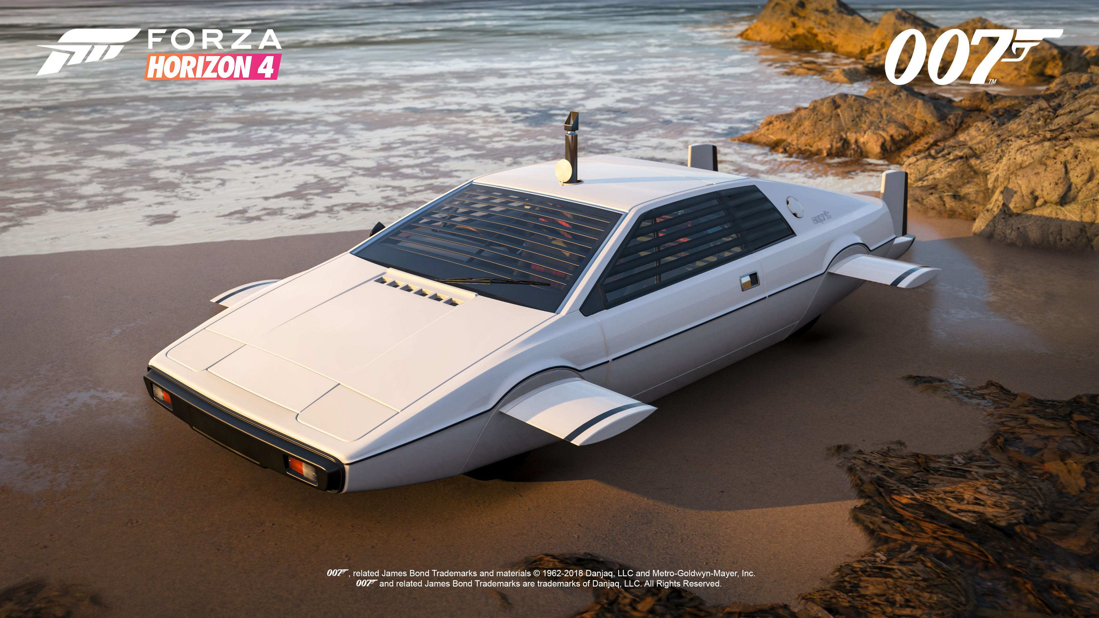 The 1977 Lotus Esprit S1 from The Spy Who Loved Me (1977) in its submarine body kit.
