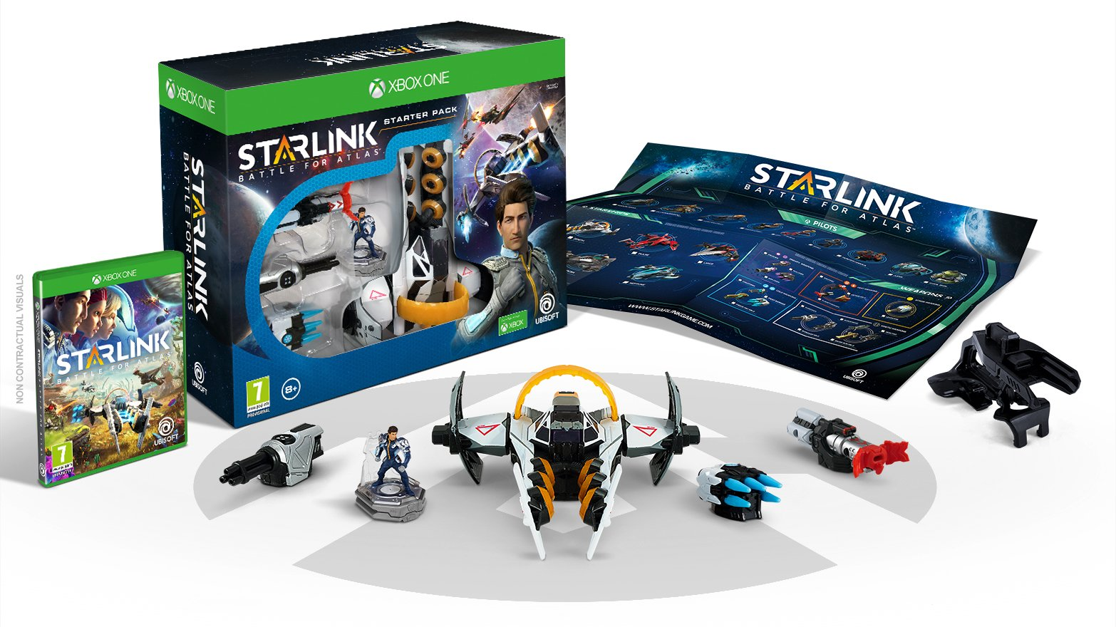 The Xbox One Starter Pack for Starlink: Battle for Atlas.