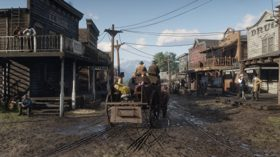 Brand New 4K Screenshots of Red Dead 2 on PC (连续播放 Xbox One)